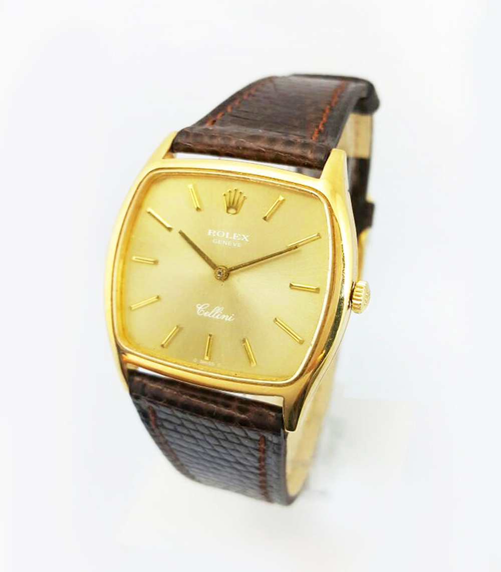 ROLEX CELLINI - Oro 18K - Hebilla Rolex - Carga Manual